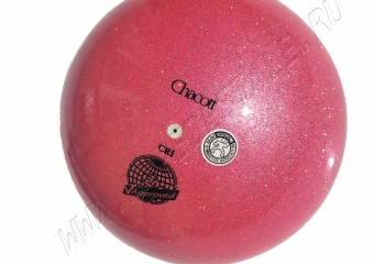 Мяч Chacott Prism (Призма) 18,5 см Медово-розовый (642)