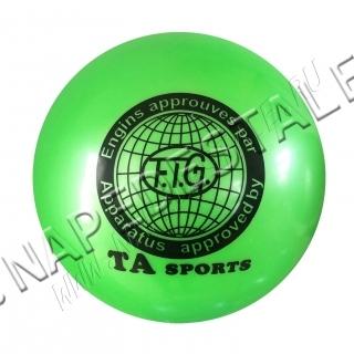 Мяч TA Sports Зеленый однотонный