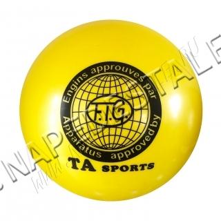 Мяч TA Sports Желтый однотонный