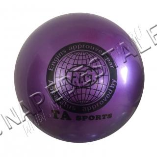 Мяч TA Sports Фиолетовый однотонный