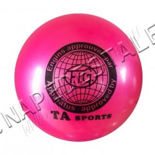 Мяч TA Sports Розовый однотонный