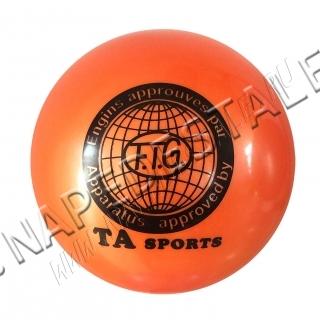 Мяч TA Sports Оранжевый однотонный