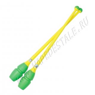 Булавы Chacott 36.5 см Зелёно-жёлтые (462)