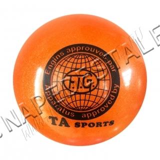 Мяч TA Sports Оранжевый с блестками
