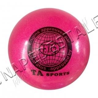 Мяч TA Sports Розовый с блестками