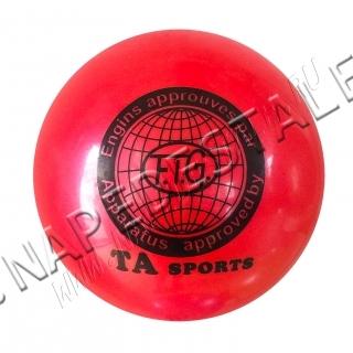 Мяч TA Sports Красный однотонный
