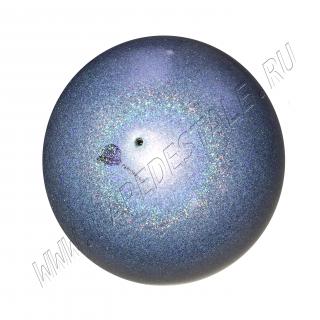 Мяч Pastorelli Glitter HV 18 см Галактика (Серебро)