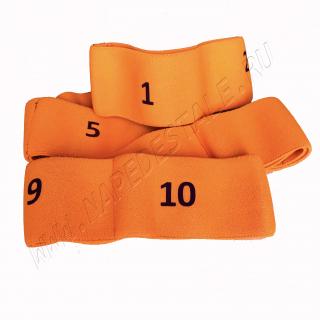 Orange 10 sections