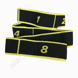 Black & yellow 8 sections