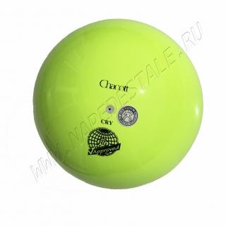 Мяч Chacott 18,5 см Лимонный (062)