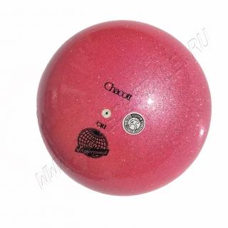 Мяч Chacott Prism (Призма) 17 см Малиновый (648)