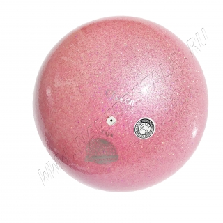 Мяч Chacott Prism (Призма) 18,5 см Сахарно-розовый (643)