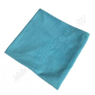 Пояс согревающий флисовый голубой
