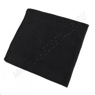 Пояс согревающий флисовый черный