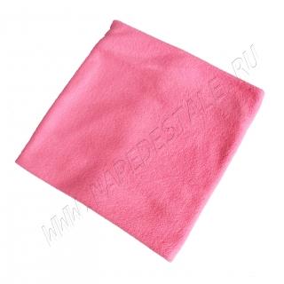 Пояс согревающий флисовый розовый
