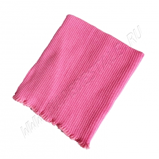 Пояс согревающий полушерстяной розовый