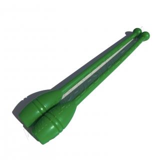 Пластиковые булавы 35 см Зеленые