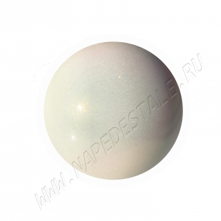 Мяч Pastorelli Glitter HV юниор 16 см Белый