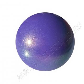 Мяч Pastorelli Glitter HV Юниор 16 см Фиолетовый