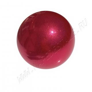 Мяч Pastorelli Glitter HV Юниор 16 см Малиновый