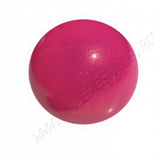 Мяч Pastorelli Glitter HV юниор 16 см Розовый