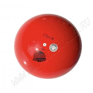 Мяч Chacott юниор 17 см Красный (052)