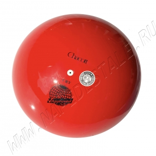 Мяч Chacott 18,5 см Красный (052)