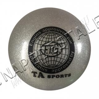Мяч TA Sports Серебро с блестками
