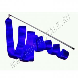 Лента 6 м с палочкой Синий