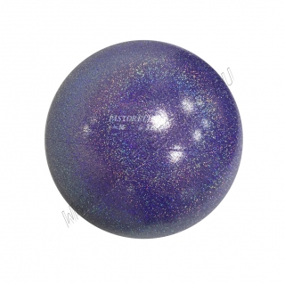 Мяч Pastorelli Glitter HV 16 см Lilla Baby